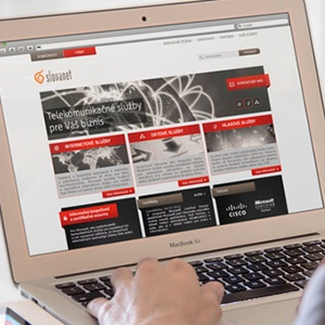 Slovanet business web