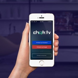 Mobile application CHATR.tv